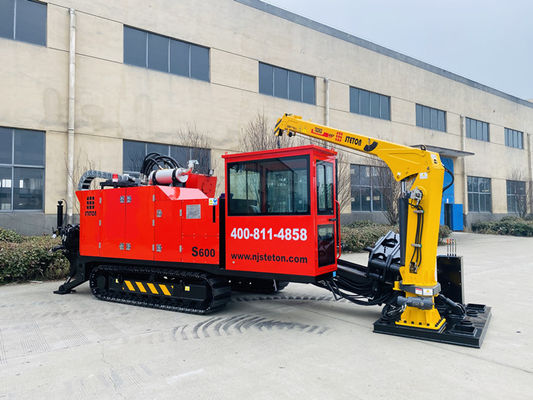 150 obr / min Mini Body Structure 194KW HDD Directional Bore Drilling Rig